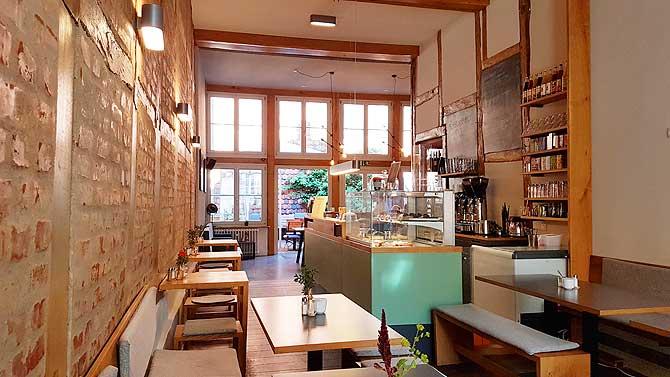 Cafe Müllers Bistro Schwerin Innenraum