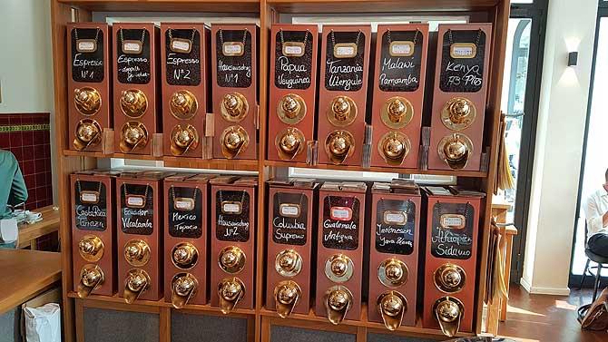 Kaffee Rösterei Fuchs Schwerin Auswahl