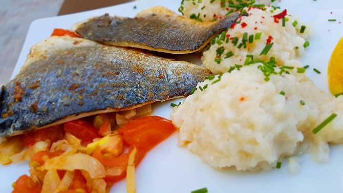 Fisch Restaurant Lukas Schwerin Fischgericht