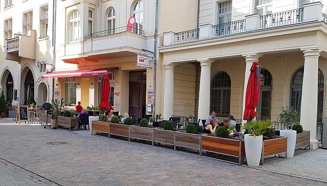 Pizzeria Go Saleto Schwerin Terrasse