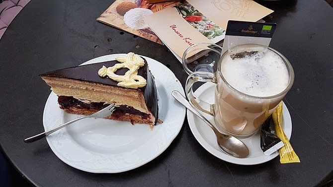 Cafe Konditorei Rothe Schwerin Gedeck