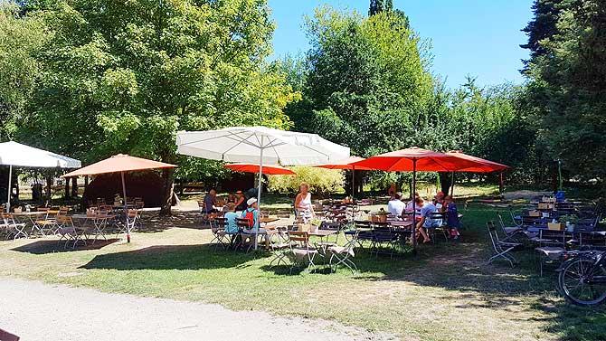 Cafe Schloss Wiligrad Schwerin Garten