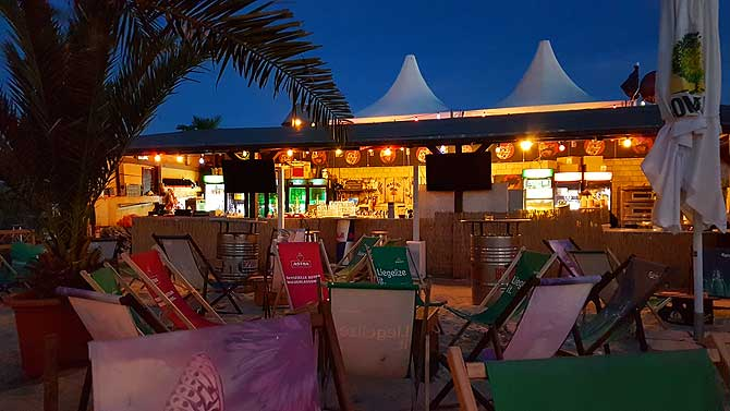 Sky Beach Club Schwerin Strandbar