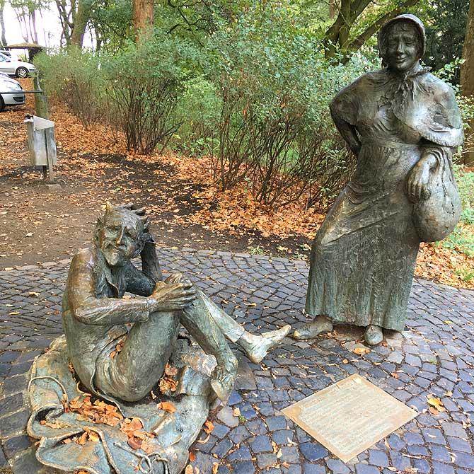 Lousberg-Sage über Teufel und Bauersfrau