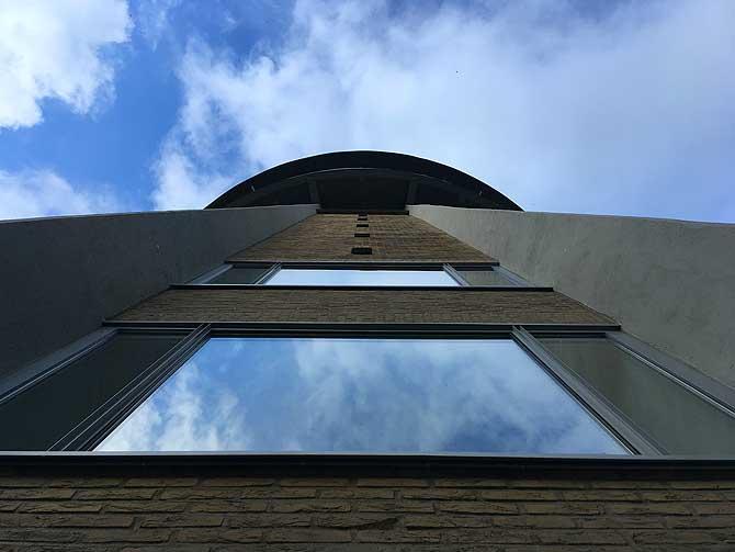 35 Meter hoch, fast 200 Stufen