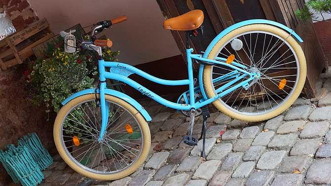 Stylishes Fahrrad