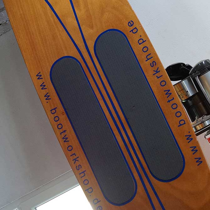 SUP Board von der Bootsbauerin von Usedom