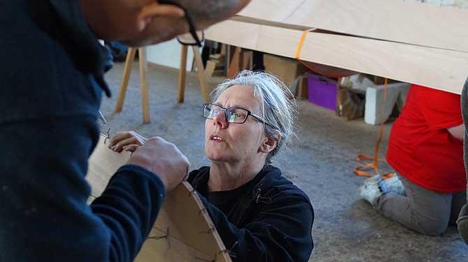 Die Bootsbauerin von Usedom hilft ihren Schützlingen