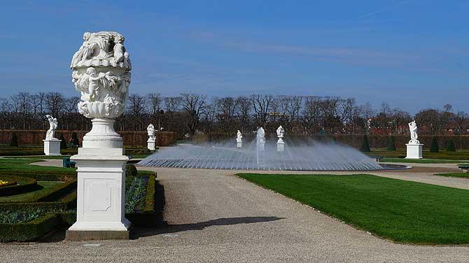 Große Fontäne Herrenhäuser Gärten Hannover