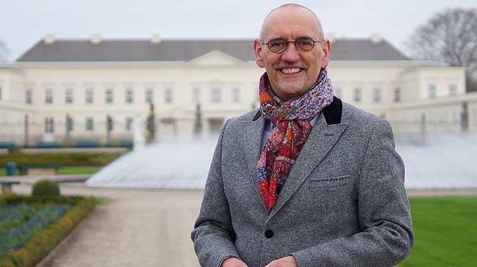 Ronald Clark ist Direktor der Herrenhäuser Gärten in Hannover