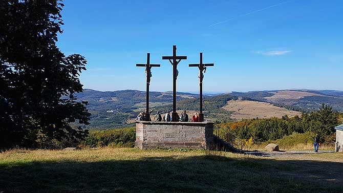 Drei Kreuze auf dem Klosterberg