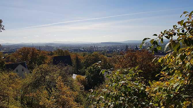Ausblick auf Fulda City