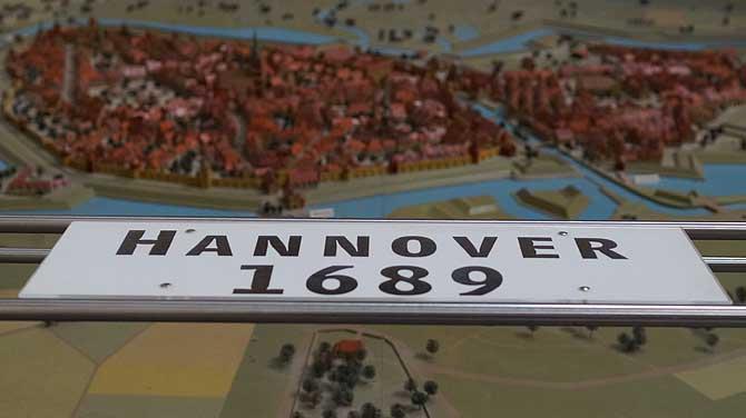 Hannover im Jahre 1689