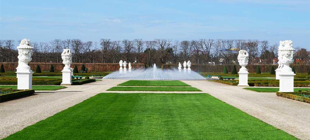 Die Herrenhäuser Gärten in Hannover gehören zu den schönsten Gartenanlagen in Deutschland
