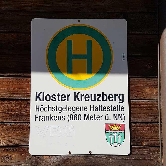 Haltestelle Kloster Kreuzberg