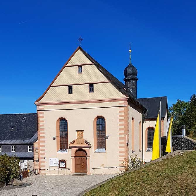 Schöne kleine Klosterkirche