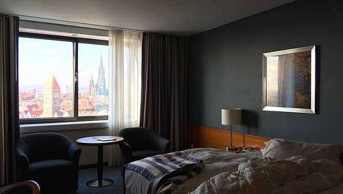 Hotelzimmer mit Münsterblick