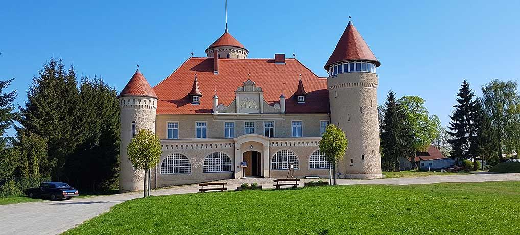Schloss Stolpe im gleichnamigen Ort ist ein beliebtes Ausflugziel auf Usedom