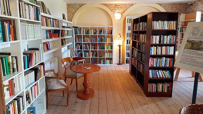 Bibliothek und Schlossbücherei