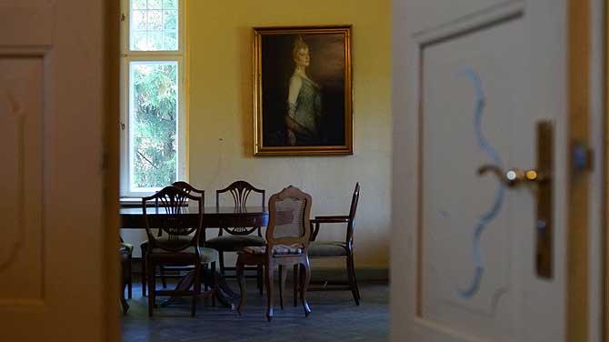 Das Frauenzimmer des Schlosses