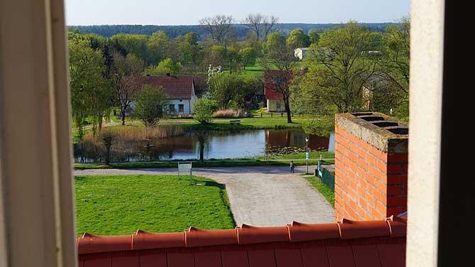 Ausblick auf den Schlossteich