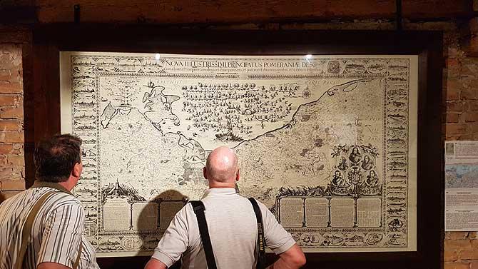 Lubinsche Karte, die erste Landkarte von Pommern