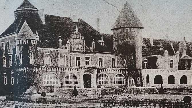 Schloss Stolpe im 16. Jahrhundert
