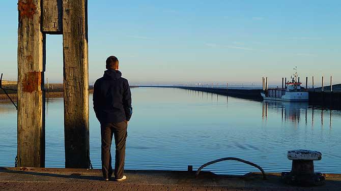 Instagram Schnappschuss am Hafen in Norden Norddeich