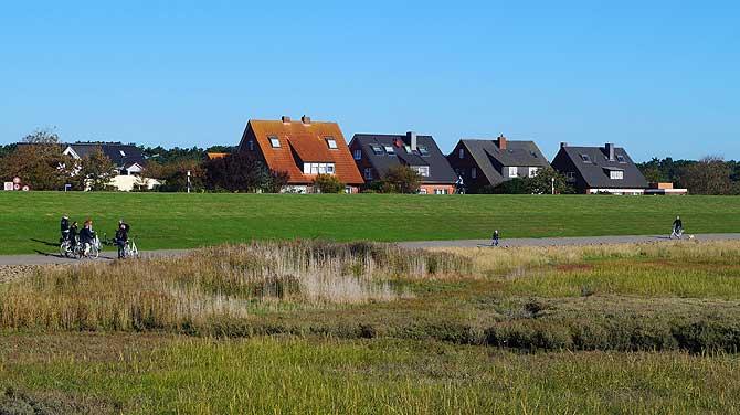 Flachdachhaus auf Norderney