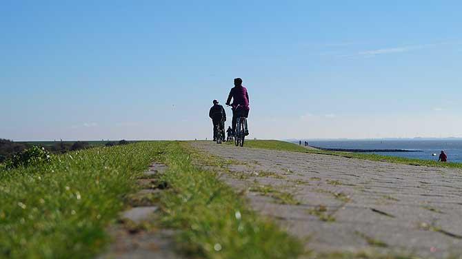 Radtour auf Norderney