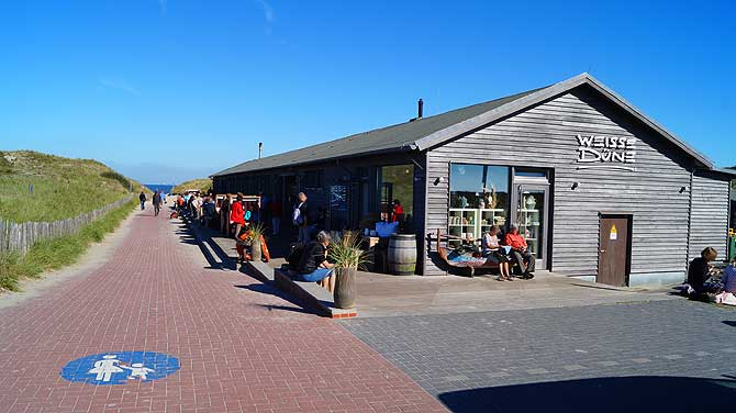 Bar Cafe und Restaurant Weisse Düne