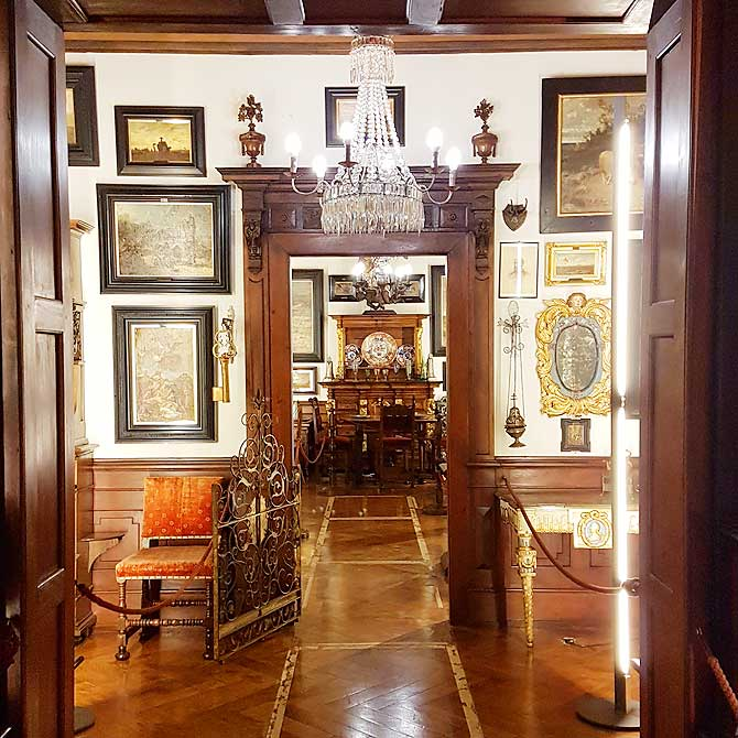 Faszinierender Raum im Stadtmuseum Biberach
