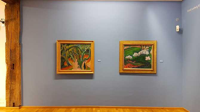 Gemälde von Kirchner