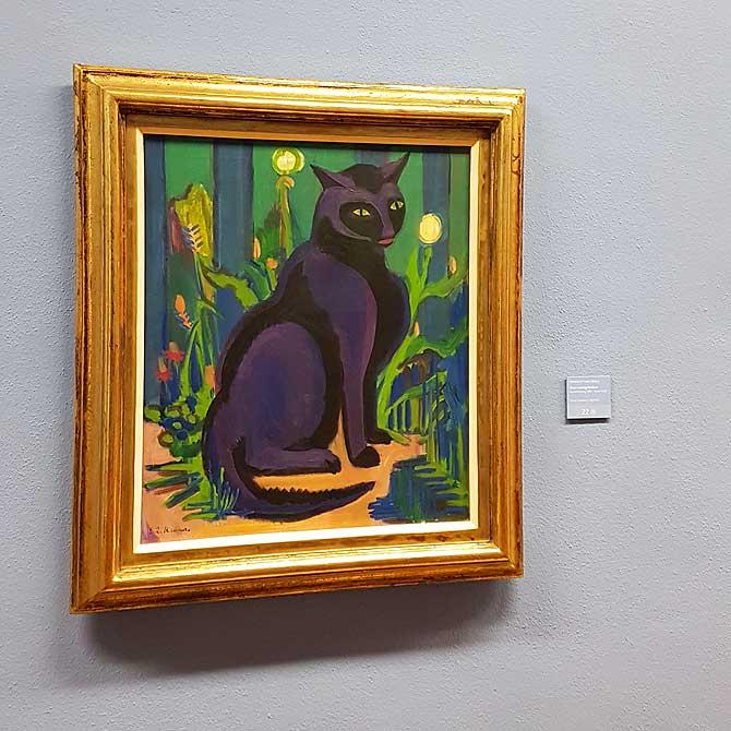 Katze Bobby von Ernst Ludwig Kirchner