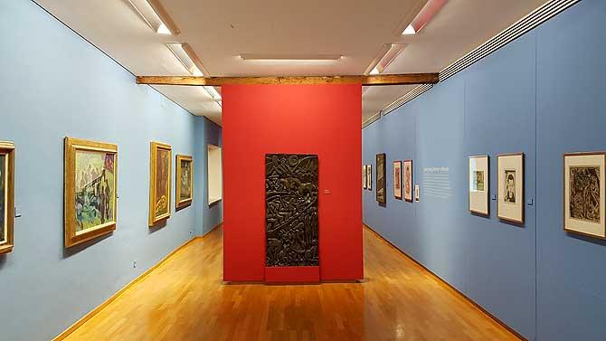 Bereich Kunst im Stadtmuseum Biberach