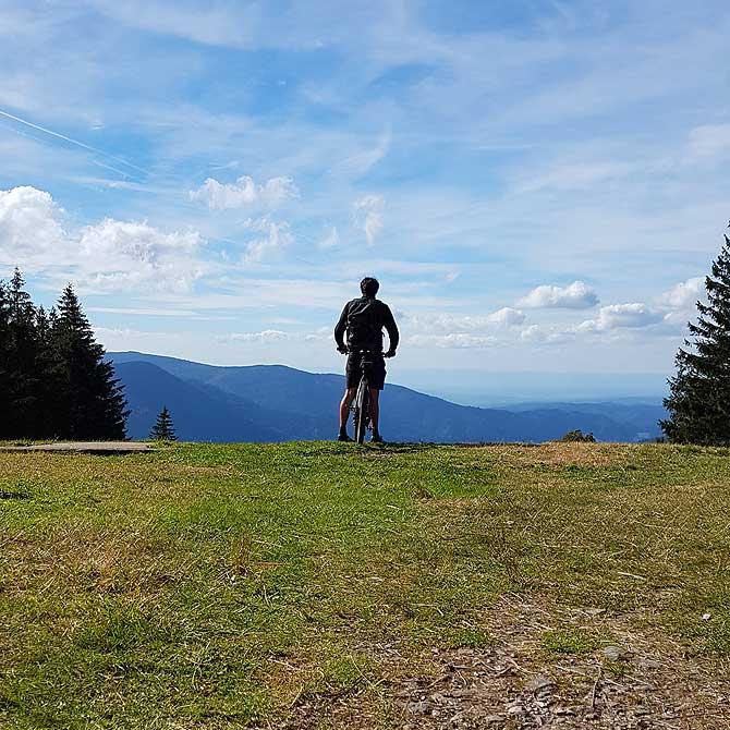 Ausblick von Berg Brend