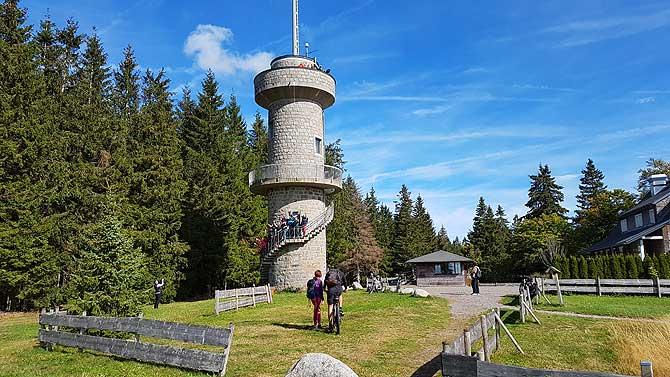 Der Brendturm ist ein beliebtes Ausflugsziel