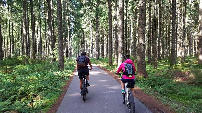Mit dem Rad durchs Ferienland Schwarzwald