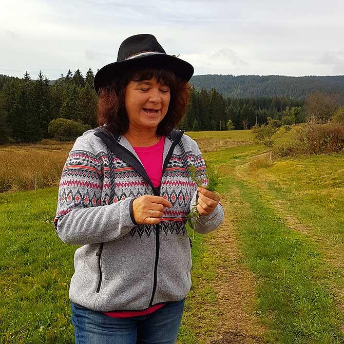 Wanderführerin Ingrid Schyle