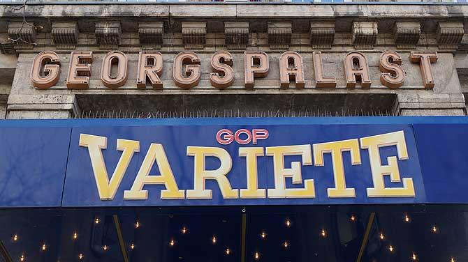 GOP Variete Eingang