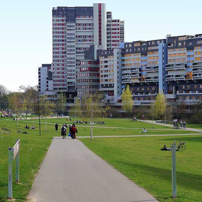 Hochhaus im Hannover Stadtteil Linden
