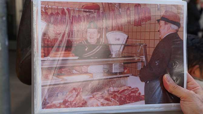 Marktfrau Karoline Duhnsen