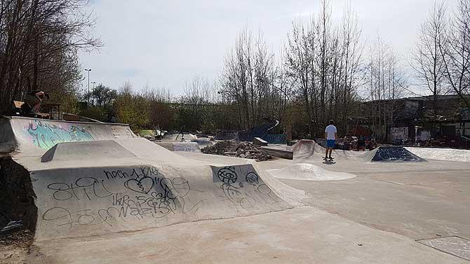Skatepark im Platzprojekt