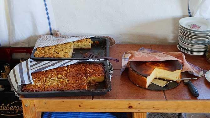 Kuchen in der Mühle Benz