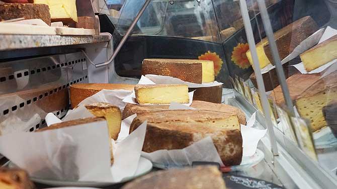 Viel Käse zur Auswahl