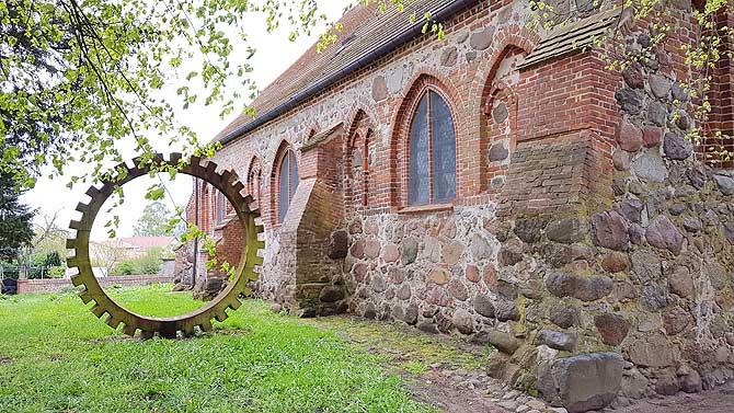 Alte Kirche Liepe Usedom