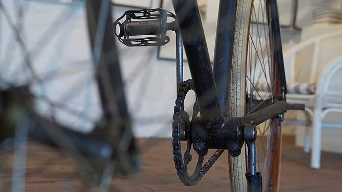 Fahrrad von Lyonel Feininger im Kunstmuseum Benz