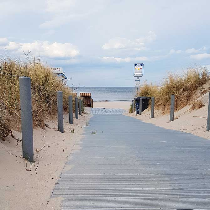 Urlaub auf Usedom heisst Urlaub am Strand