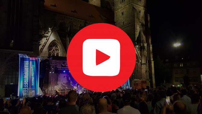 Kurzes Video mit Clips vom Nürnberger Bardentreffen