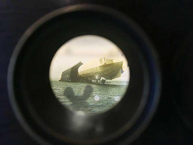 Zeppelin dockt an